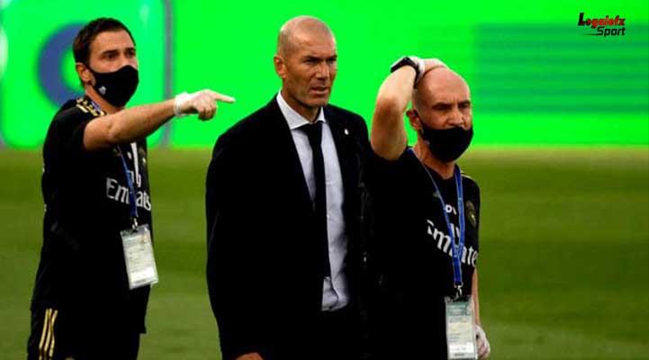 นัดที่ 35 ที่สนาม เอสตาดิโอ อัลเฟรโด ดิ สเตฟาโน ระหว่าง จ่าฝูง เรอัล มาดริด พบ อลาเบส การเเข่งขันฟุตบอลลาลีกา สเปน