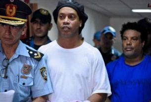 โรนัลดินโญ เฮลั่น ศาลสั่งปล่อยตัวกลับบราซิล